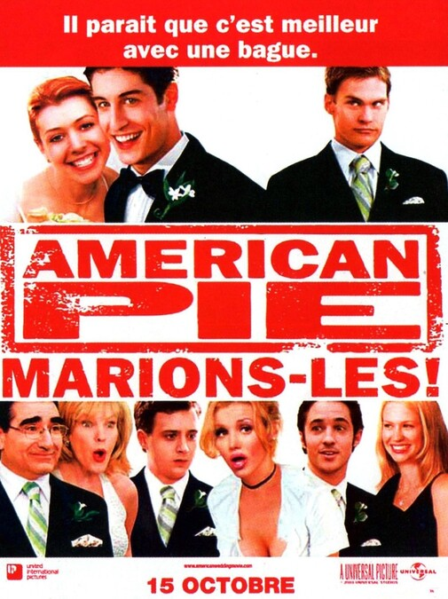 AMERICAN PIE MARIONS LES BOX OFFICE FRANCE 2003