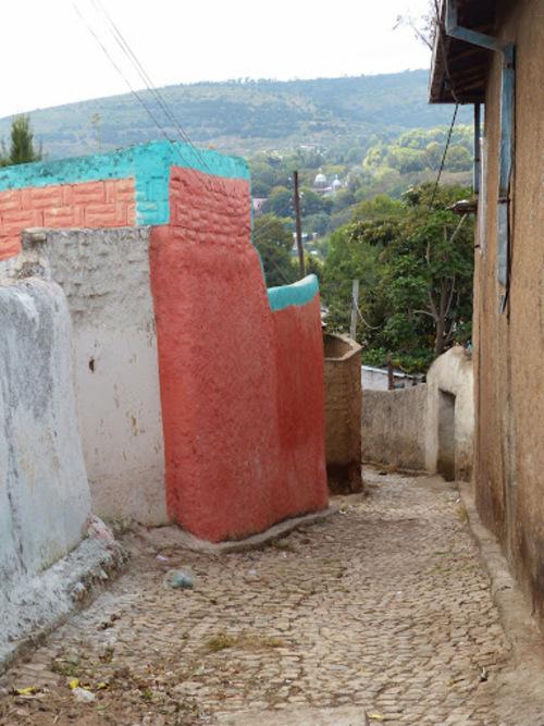 Harar; les ruelles qui mènent à la maison de Rimbaud;