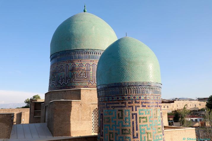 Nécropole Chah-e-Zindeh, Samarcande