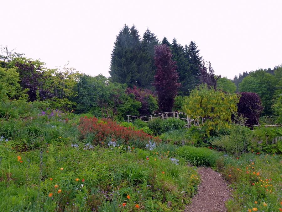 Suite W.E Franche -Comté : le jardin de Berchigranges.
