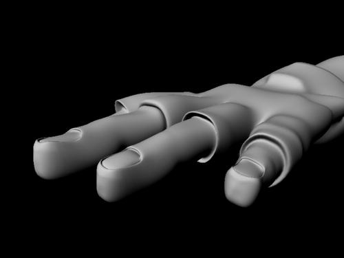 Modelisation 3D : poupée gothique
