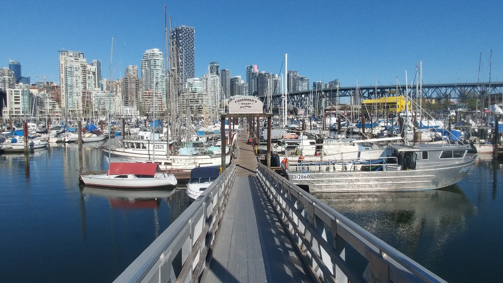 Easter 2019 trip - Day four: Granville Island & Vancouver Lookout