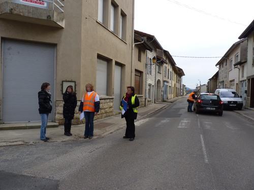 Fermeture de la 5me classe de l'école de Chavannes - 16/03/2013