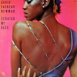 "David ""Fathead"" Newman - Scratch My Back - Complete LP"