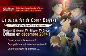 La Disparition de Conan Edogawa en vostfr