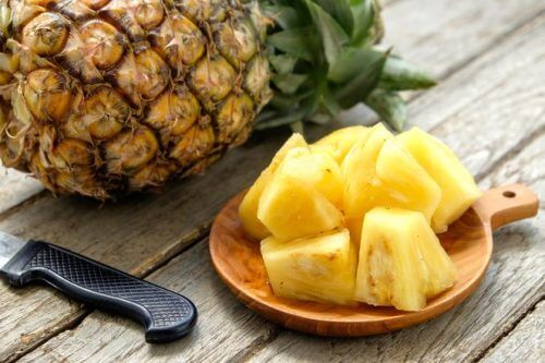 l'ananas aide à hydrater notre corps