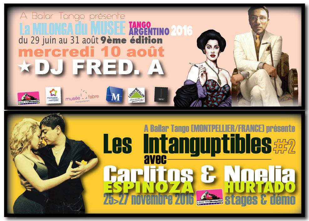 ★ Ce mercredi 10 août La Milonga du Musée avec DJ FRED.A ★