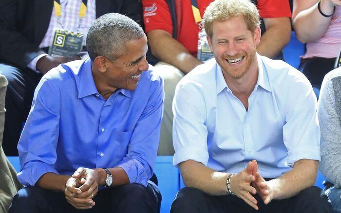 Harry et Obama aux Invictus Games