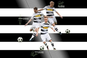 Nouveau Maillot Gladbach Football Club pas cher Domicile 2016-17