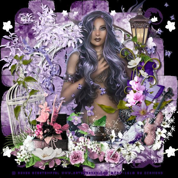 """Tutoriel """"Purple Dreams"""" de MéliCreas Tutoriels"""