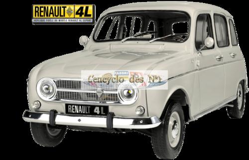N° 1 Construisez la Renault 4L Export - Lancement