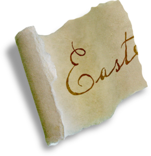 Pâques écriture / texte etc 2