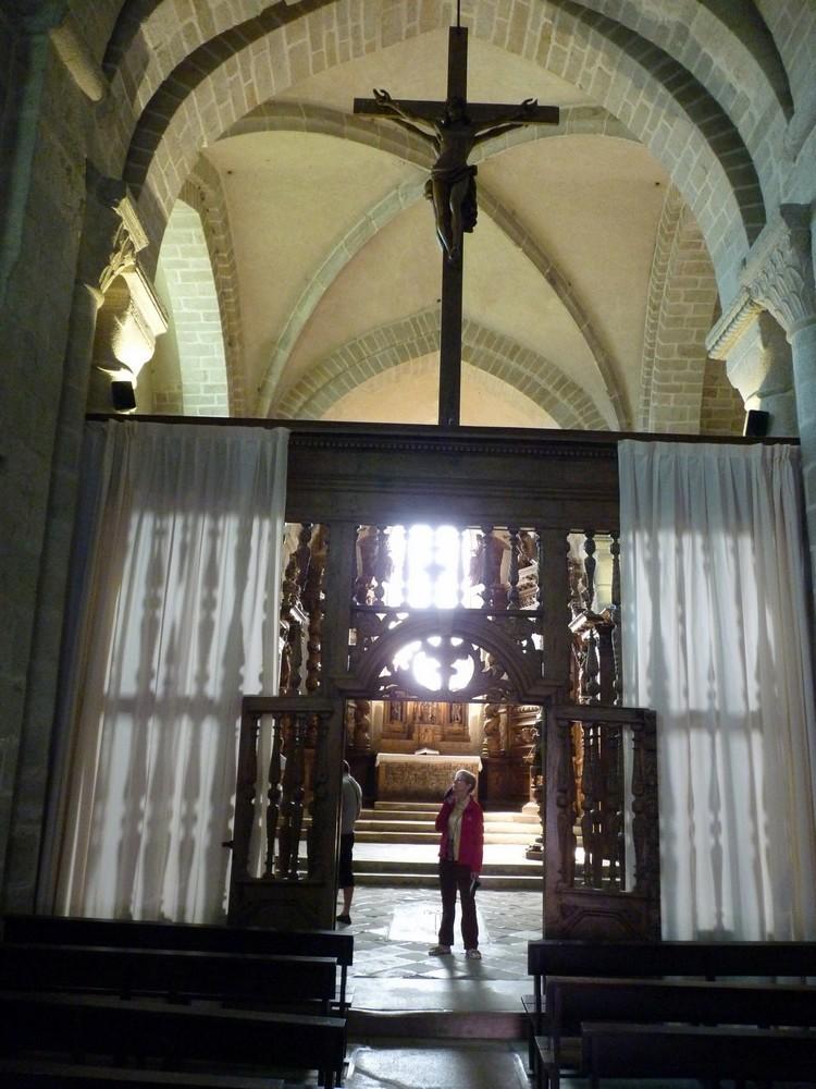 Portique du chœur