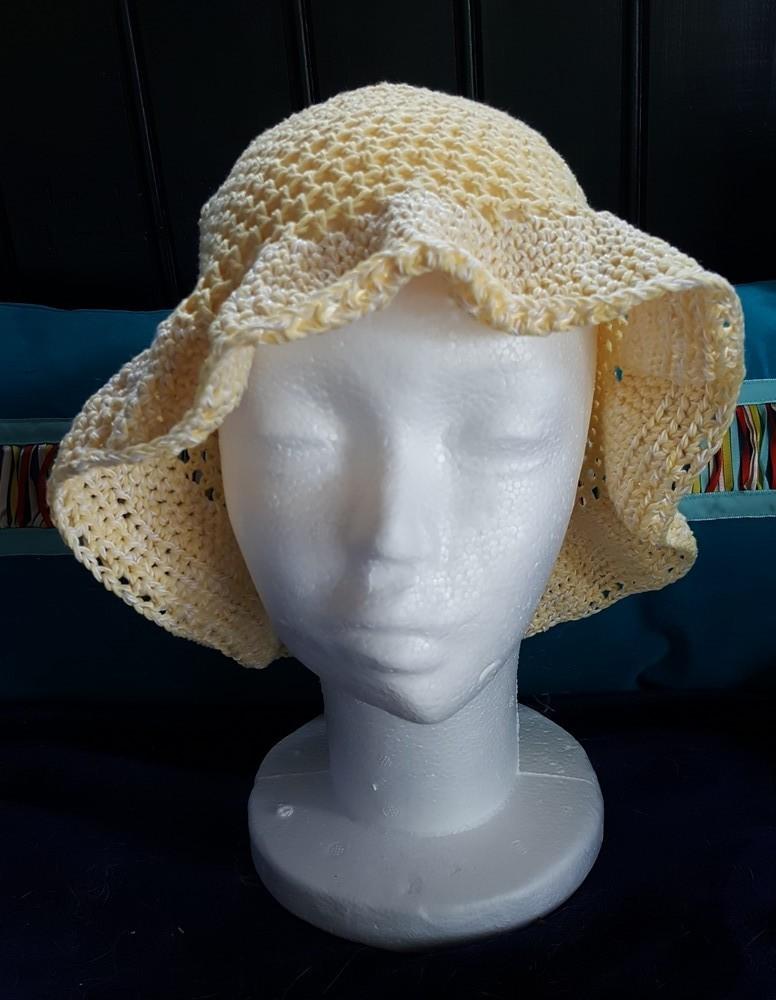 """Mon chapeau """"Tournesol""""..."""