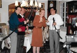 Noël 1991  - Villa Les  Palmiers  Mougins