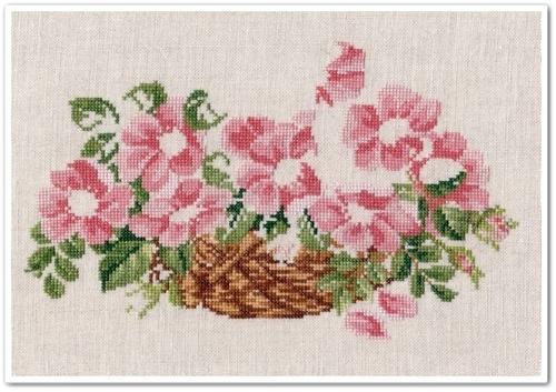 Wild Roses Basket 6
