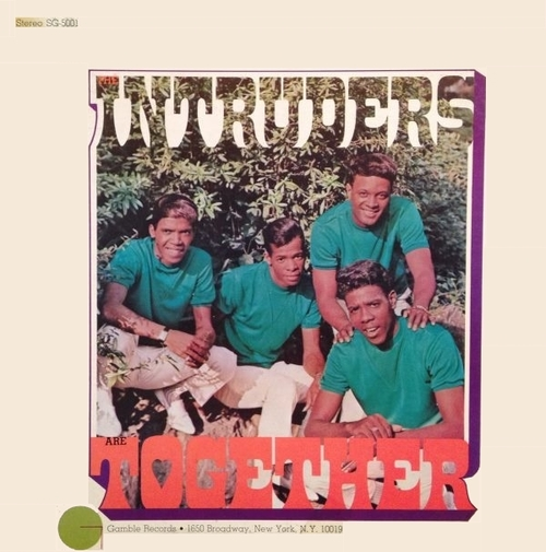 "The Intruders : Album "" The Intruders Are Together "" Gamble Records SG-5001 [ US ]"