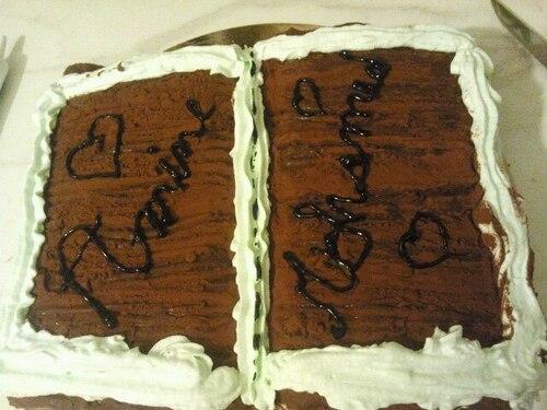Gâteau fait pour une aquiqa (baptème)