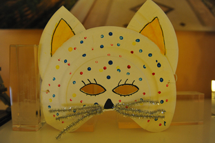 "Masques ""chat"" de carnaval"