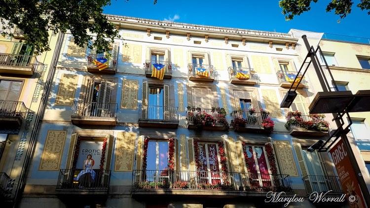 Barcelone : Pedrera, Rambla, Cathédrale etc