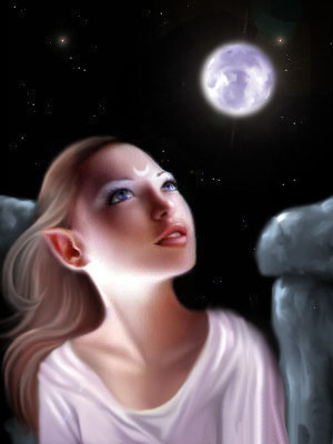 Ange et Lune