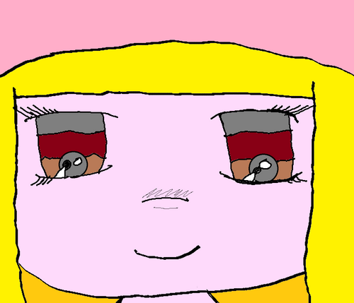Chibi blonde (tablette graphique)