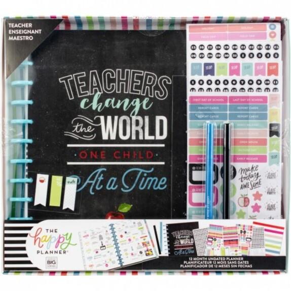 La planner de suivi de l'enseignant(e)