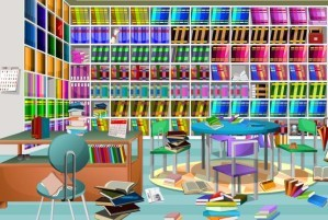 Hidden objects - Library