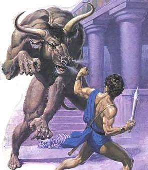 Le mythe de Thésée et le minotaure - Mythologie grecque