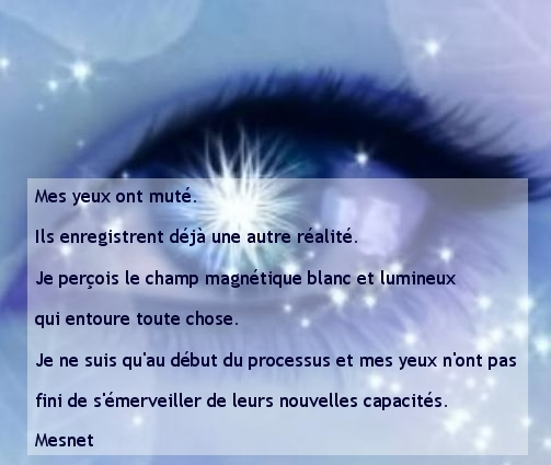 8 : Mes yeux