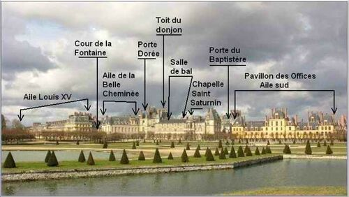 """""""""""LE CHÂTEAU de FONTAINEBLEAU .- S&M.(77) pour terminer la série."""""""""""