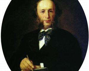 Portrait of the Artist I.K. Aivazovsky  - Ivan Kramskoy