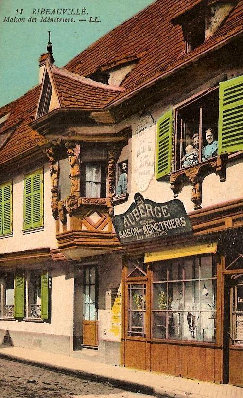 Maison des Ménétriers, à Ribeauvillé