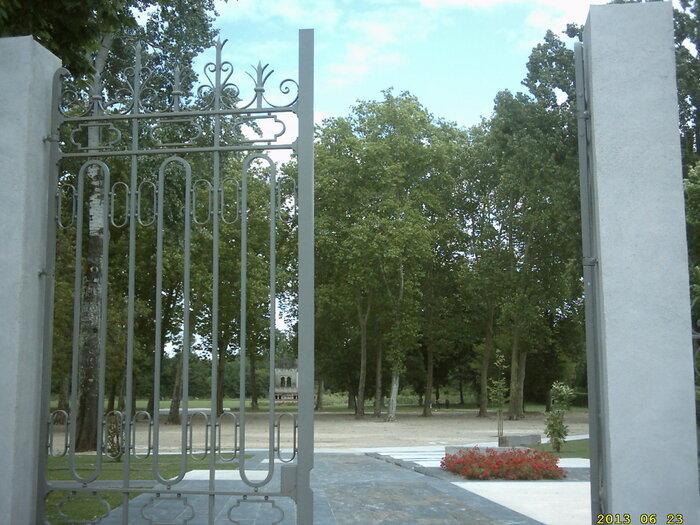 le parc des vergers à Langon (Gironde)