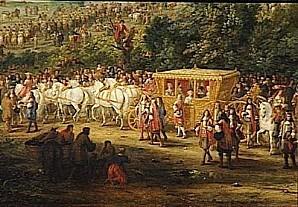 Adam Frans van der Meulen Entr e de Louis XIV et de Marie T