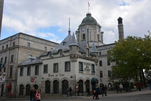 Quebec, la place d'armes