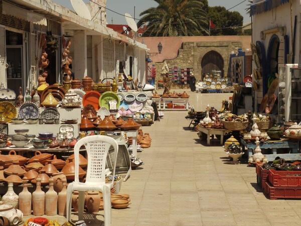 Les marchands de poteries