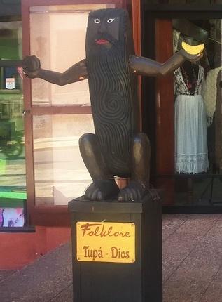 le dieu Tupa, créateur du monde