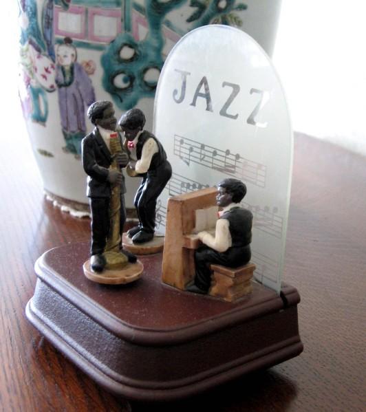 Statuette jazz 7701