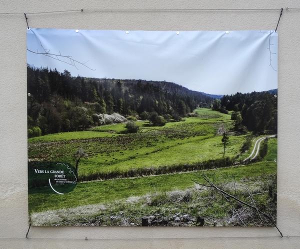 Les belles photos de paysages Châtillonnais ont décoré, l'été dernier, les murs de la cour du Musée du Pays Châtillonnais-Trésor de Vix