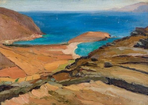 Quelques îles dans la peinture grecque contemporaine (4)