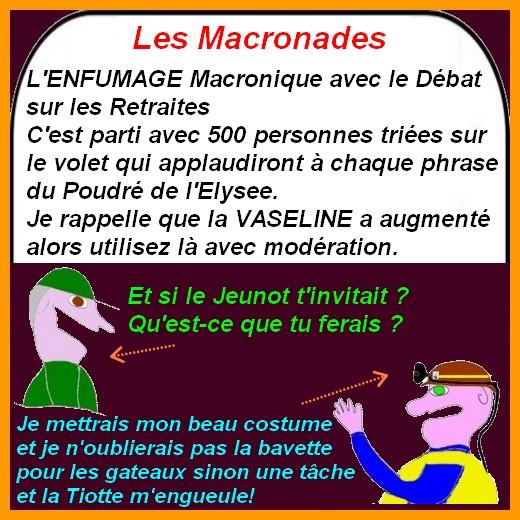 Chirac, Retraite etc.. ce sont les infos du poissonnier.