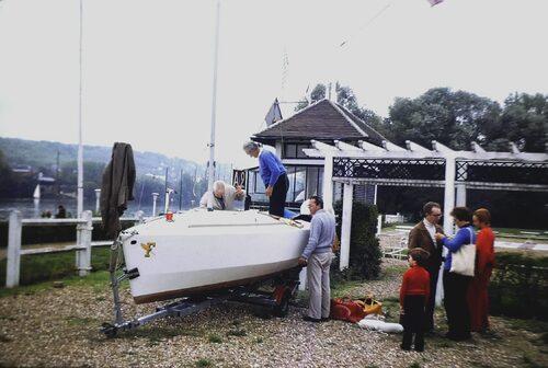 Présentation du Figaro au Yacht Club d'Ile de France aux Mureaux (suite)
