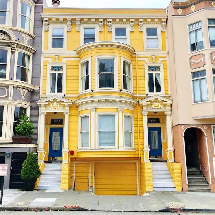 Les-maisons-en-couleurs-de-San-Francisco-9 Les maisons en couleurs de San Francisco