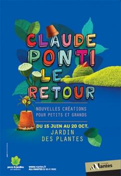 Claude Ponti et le poussin endormi au Jardin des Plantes : un retour très attendu