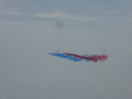 Salon du Bourget 4, la patrouille de France