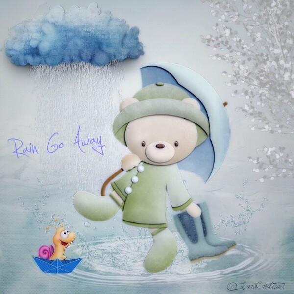 rain if away