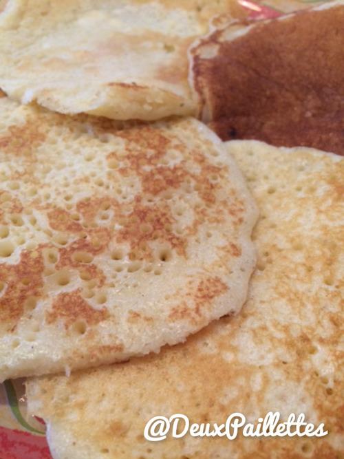 Les pancakes du dimanche ...