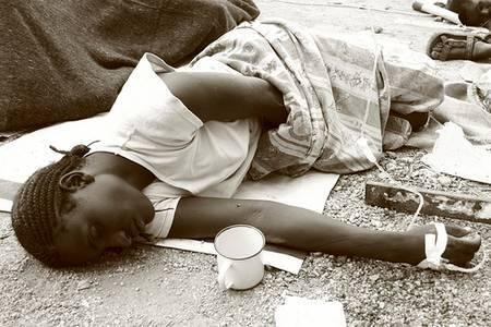 Le choléra a déjà fait de nombreuses victimes en Haïti.