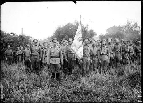 Russe en france en 1916
